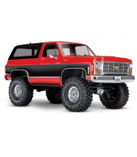 TRX-4 CHEVY BLAZER 1/10 CRAWLER RTR RED