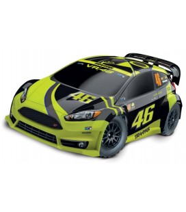 TRAXXAS 1/10 FORD FIESTA ST RALLY VR46