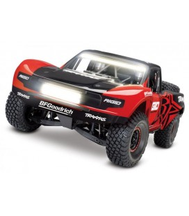 UDR 4WD TQi TSM LED-SET RTR RED