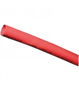 HEAT SHRINKABLE TUBING 6.0MM RED 1M