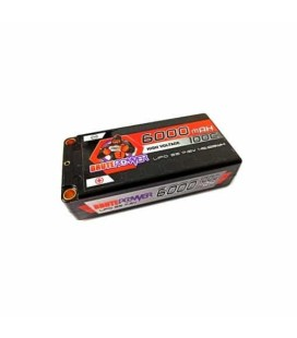 LIPO SHORTY 2S 7.6V HV 6000MAH 100C