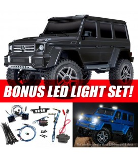 TRX-4 MERCEDES G500 4x4 BLACK RTR LED