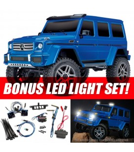 TRX-4 MERCEDES G500 4x4 BLUE RTR LED