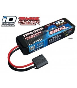 LIPO BATTERY 2S 7,4V 5800Mah 25C iD-C