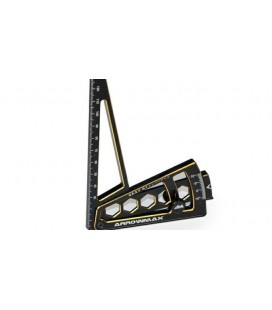ULTRA CAMBER GAUGE FOR 1/8 BLACK GOLDEN