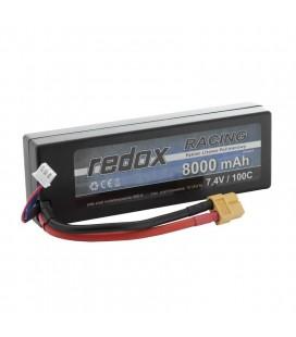 REDOX RACING LIPO 8000Mah 7,4V 100C