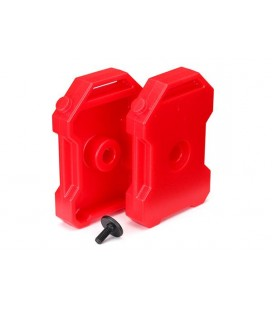 FUEL CANISTER RED (2) TRX-4
