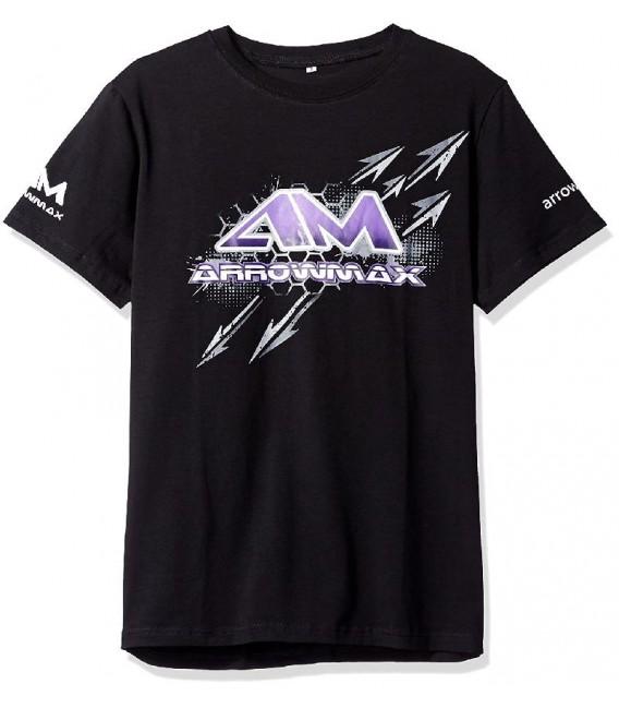 T-SHIRT ARROWMAX BLACK (S)