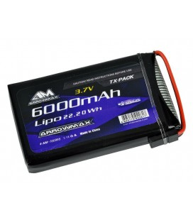 AM LIPO 6000Mah 3.7V FOR SANWA M17
