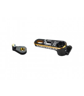 ARROWMAX ALU SERVO HORN 25T BLACK GOLDEN