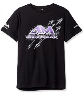 T-SHIRT ARROWMAX BLACK (L)