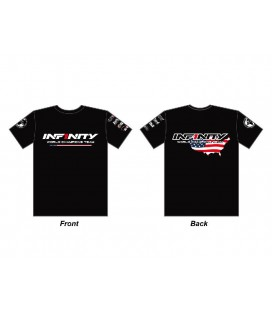 INFINITY TEAM USA T-SHIRT BLACK (M)