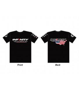 INFINITY TEAM USA T-SHIRT BLACK (2XL)
