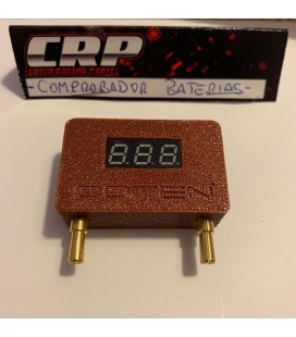 CRP QUICK LIPO BATTERY CHECKER GARNET