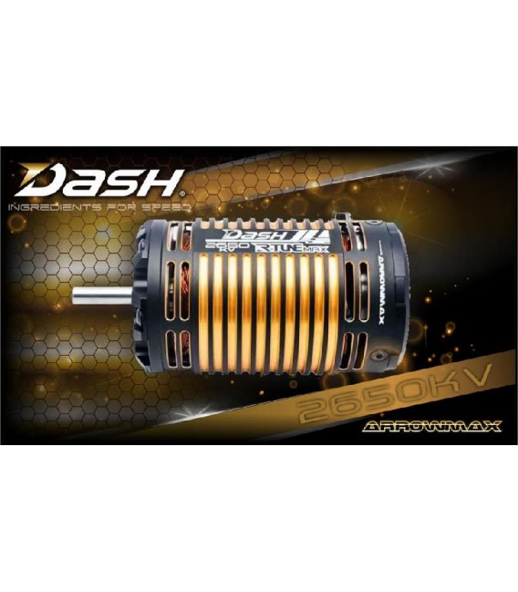 DASH R-TUNE 1/8 BRUSHLESS MOTOR 2650KV
