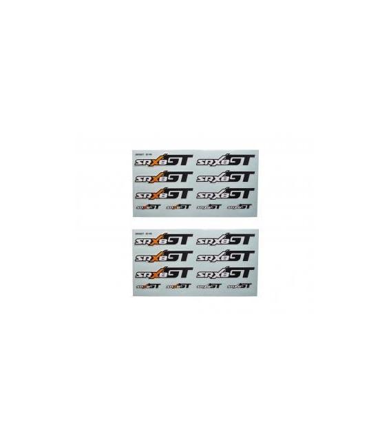 DECAL SHEET SRX8 GT (2U)