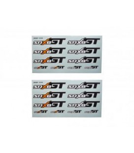 DECAL SHEET SRX8 GT (2U)