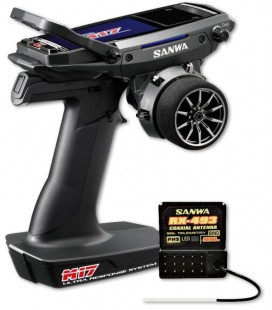 SANWA M17 RADIO WITH RX-493 RECEIVER