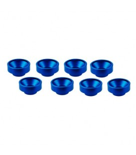 M3 ALUMINIUM SERVO WASHER BLUE (8 pcs)