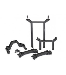 BODYMOUNT AND POSTS FRONT AND REAR TRX-4