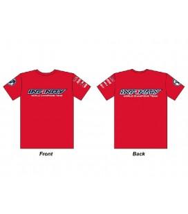 INFINITY TEAM USA T-SHIRT RED (M)