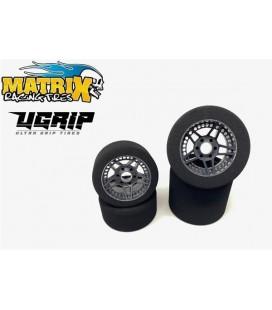 SET MATRIX UGRIP CARBON 32/35 68-75mm