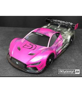 BITTYDESIGN HYPER-GT8 GT BODY 325MM WB