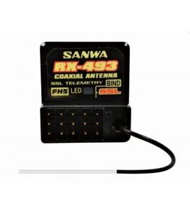 SANWA RX-493 FH5 SRX RESPONSE RECEIVER