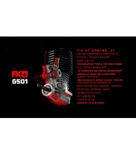 FX G501 5 PORT .21 GT ON ROAD ENGINE